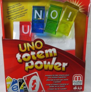 Gra Uno Totem Power Mattel