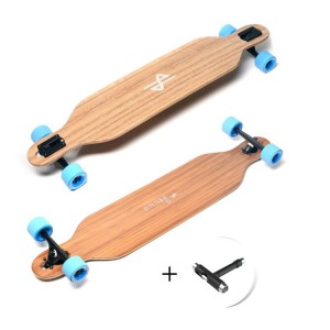 Carve Bamboo Longboard 104cm PLUS T-Tool HB Longboards