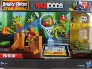 Angry Birds Star Wars telepods pojazdy endor