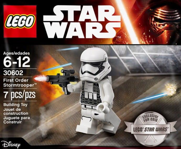 Stormtrooper żołnierz Imperium Lego Star Wars 30602 Maliciekawscypl