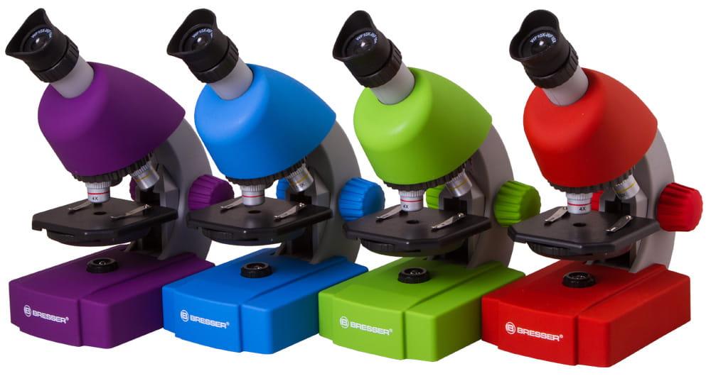 Mikroskop bresser junior kolory dla dzieci